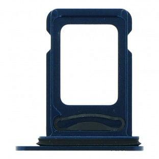 iPhone 12 Dual Sim Tray Karten Schlitten Adapter Blau