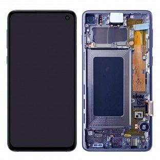 Samsung Galaxy S10 LCD Digitizer Ersatzdisplay + Rahmen Vormontiert Grün