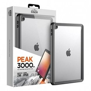 Eiger Apple iPad 10.2'' (2019 / 2020) Outdoor-Cover Peak 3000m Transparent (EGPE00129)