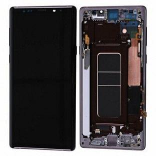 Samsung Galaxy Note 9 LCD Digitizer Ersatzdisplay + Rahmen Vormontiert Copper