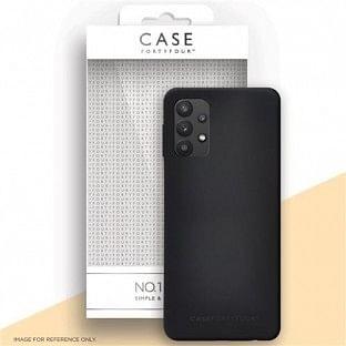 Case 44 Silikon Backcover für Samsung Galaxy A32 5G Schwarz (CFFCA0584)