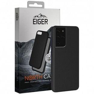 Eiger Galaxy S21 Ultra North Case Premium Hybrid Schutzhülle Schwarz (EGCA00293)