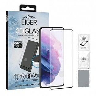 Eiger Samsung Galaxy S21 Ultra 3D Glass Display Schutzglas Vollbildschirm (EGSP00699)