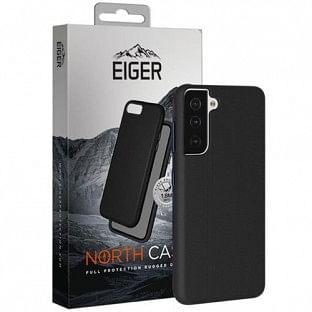 Eiger Galaxy S21 Plus North Case Premium Hybrid Schutzhülle Schwarz (EGCA00292)