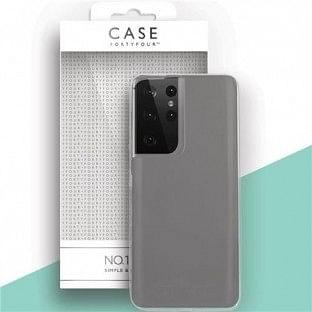 Case 44 Silikon Backcover für Samsung Galaxy S21 Ultra Transparent (CFFCA0542)