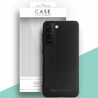 Case 44 Silikon Backcover für Samsung Galaxy S21 Plus Schwarz (CFFCA0548)