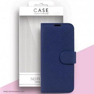 Case 44 faltbare Hülle mit Kreditkarten-Halterung für das Samsung Galaxy S21 Plus Blau (CFFCA0560)