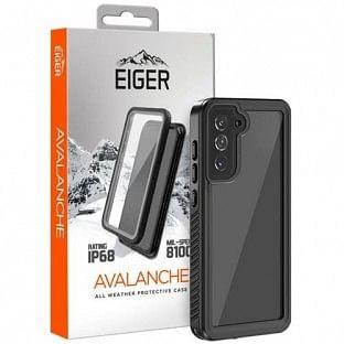 "Eiger Samsung Galaxy S21 Outdoor Cover ""Avalanche"" Schwarz (EGCA00279)"