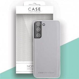 Case 44 Silikon Backcover für Samsung Galaxy S21 Transparent (CFFCA0540)