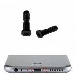 2 x iPhone 6S Plus / 6S / 6 Plus / 6 Pentalobe Schrauben Schwarz für LCD Display