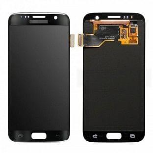 Samsung Galaxy S7 LCD Digitizer Front Ersatzdisplay OEM Schwarz