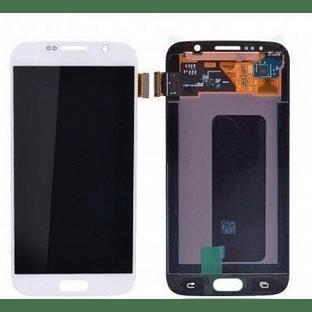 Samsung Galaxy S6 LCD Digitizer Front Ersatzdisplay OEM Weiss