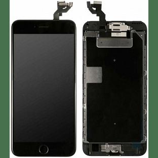 iPhone 6S Plus LCD Digitizer Rahmen Komplettdisplay OEM Schwarz Vormontiert