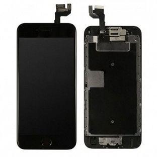 iPhone 6S LCD Digitizer Rahmen Komplettdisplay OEM Schwarz Vormontiert