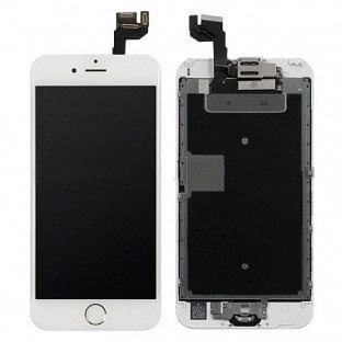 iPhone 6S LCD Digitizer Rahmen Komplettdisplay OEM Weiss Vormontiert