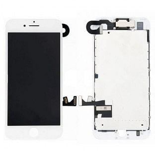 iPhone 8 LCD Digitizer Rahmen Komplettdisplay OEM Weiss Vormontiert