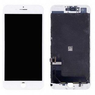 iPhone 8 Plus LCD Digitizer Rahmen Ersatzdisplay OEM Weiss