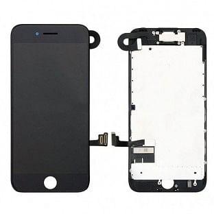 iPhone 8 Plus LCD Digitizer Rahmen Komplettdisplay OEM Schwarz Vormontiert