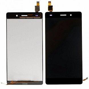 Huawei P8 Lite LCD Ersatzdisplay Schwarz OEM