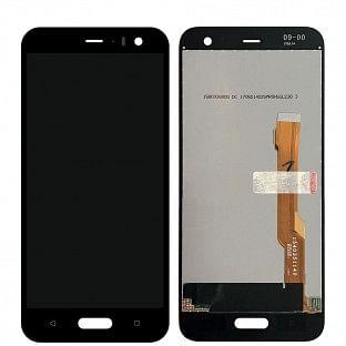 HTC U11 Life LCD Ersatzdisplay Schwarz OEM