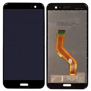 HTC U11 LCD Ersatzdisplay Schwarz OEM