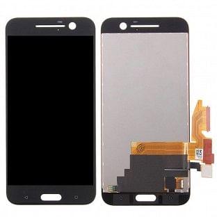 HTC 10 LCD Digitizer Front Ersatzdisplay Schwarz OEM