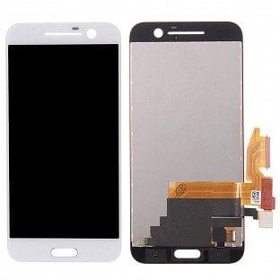 HTC 10 LCD Digitizer Front Ersatzdisplay Weiss OEM