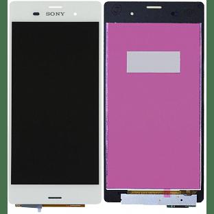 Sony Xperia Z3 LCD Ersatzdisplay Weiss OEM