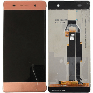 Sony Xperia XA LCD Ersatzdisplay Roségold OEM