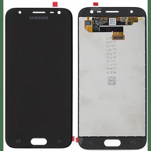 Samsung Galaxy J3 (2017) LCD Digitizer Front Ersatzdisplay Schwarz Original