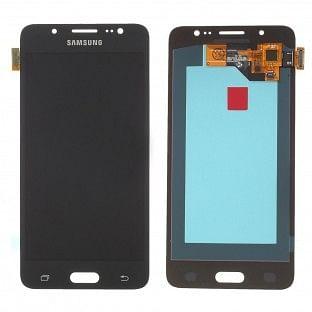 Samsung Galaxy J5 (2016) LCD Digitizer Front Ersatzdisplay Schwarz OEM