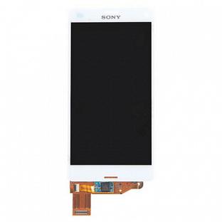 Sony Xperia Z3 Compact LCD Ersatzdisplay Weiss OEM