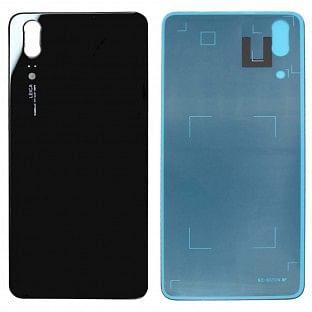 Huawei P20 Backcover Rückschale mit Kleber Schwarz OEM