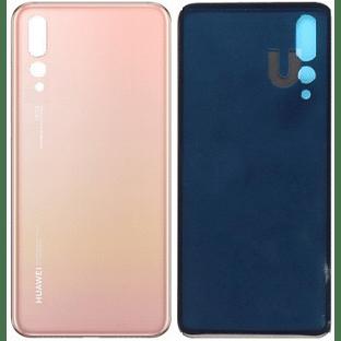 Huawei P20 Pro Backcover Rückschale mit Kleber Pink OEM