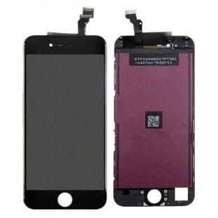 iPhone 6 LCD Digitizer Rahmen Ersatzdisplay OEM Schwarz