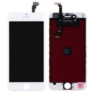 iPhone 6 Digitizer Rahmen LCD Ersatzdisplay OEM Weiss