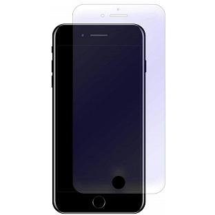 2er Set Crocfol iPhone 8 Plus / 7 Plus Flüssig Glas Display Schutzfolie Transparent (DF4596-CF)