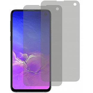 2er Set Crocfol Samsung Galaxy S10e Flüssig Glas Display Schutzfolie Transparent (DF4953-CF)