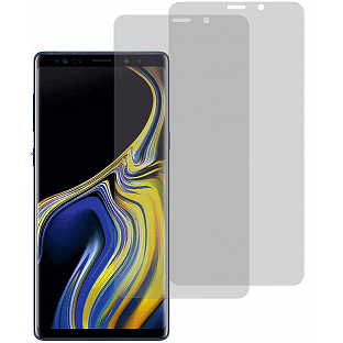 2er Set Crocfol Note 9 Flüssig Glas Display Schutzfolie Transparent (DF4809-CF)