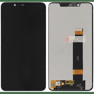Nokia 5.1 Plus LCD Digitizer Ersatzdisplay Schwarz OEM