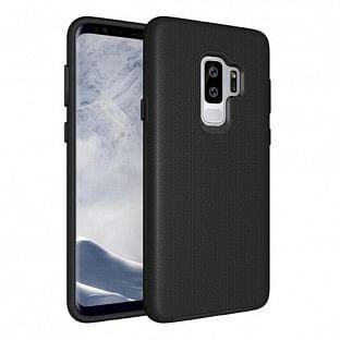 Eiger Galaxy S9 North Case Premium Hybrid Schutzhülle Schwarz (EGCA00109)