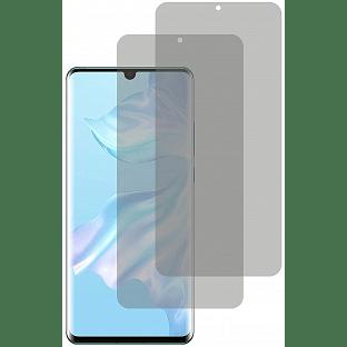 2er Set Crocfol Huwei P30 Lite Flüssig Glas Display Schutzfolie Transparent (DF5019-CF)
