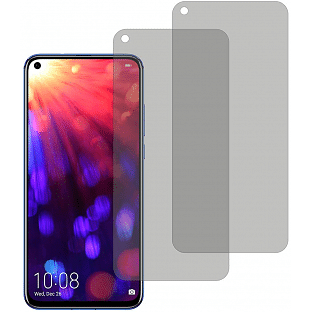 2er Set Crocfol Huwei Honor View 20 Flüssig Glas Display Schutzfolie Transparent (DF4970-CF)