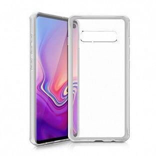 ITSkins Samsung Galaxy S10 Plus Hybrid MKII Schutz Hardcase Hülle (Fallschutz 2 Meter) Transparent (SGSR-HYBMK-TRSP)