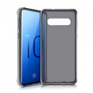 ITSkins Samsung Galaxy S10 Spectrum Schutz Hardcase Hülle (Fallschutz 2 Meter) Schwarz (SGS0-SPECM-BLCK)