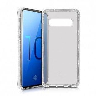 ITSkins Samsung Galaxy S10 Spectrum Schutz Hardcase Hülle (Fallschutz 2 Meter) Transparent (SGS0-SPECM-TRSP)