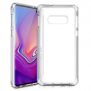 ITSkins Samsung Galaxy S10e Spectrum Schutz Hardcase Hülle (Fallschutz 2 Meter) Transparent (SGSL-SPECM-TRSP)