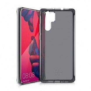 ITSkins Huawei P30 Pro Spectrum Schutz Hardcase Hülle (Fallschutz 2 Meter) Transparent / Schwarz (HW3P-SPECM-BLCK)