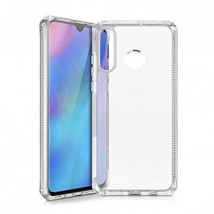ITSkins Huawei P30 Lite Hybrid MKII Schutz Hardcase Hülle (Fallschutz 2 Meter) Transparent (HW3L-HYBMK-TRSP)