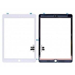 iPad 9.7 (2018) Touchscreen Glas Digitizer OEM Weiss